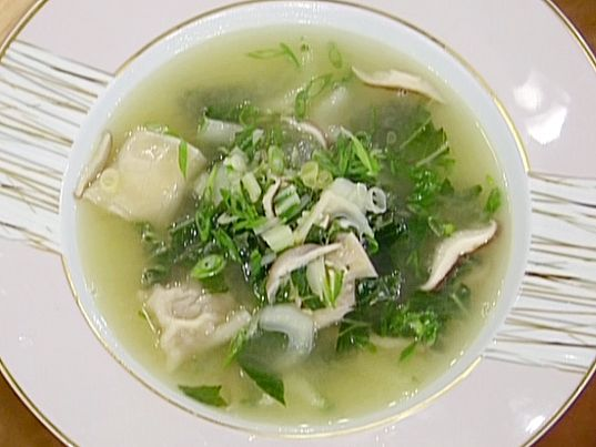 Wonton Soup from FoodNetwork.com