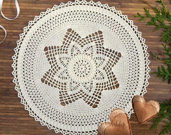 Doily Crochet doily Lace doily Crochet table topper