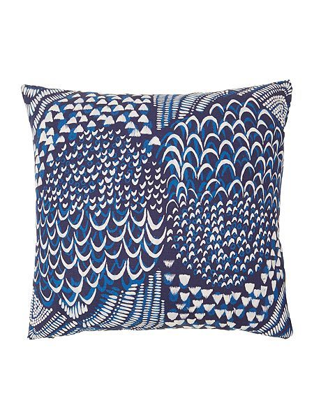 Starling Blue cushion 45 x 45