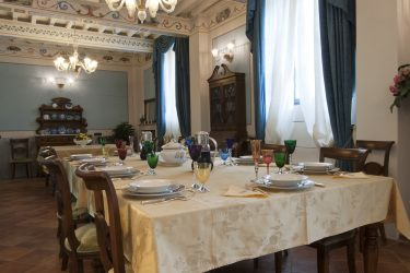 Villa Narcisa: Dining room sitting more than 22 people.