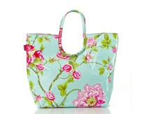 Lou Harvey beach bag in Rose Aqua