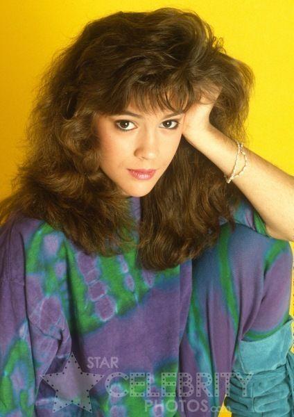 Alyssa Milano 80s