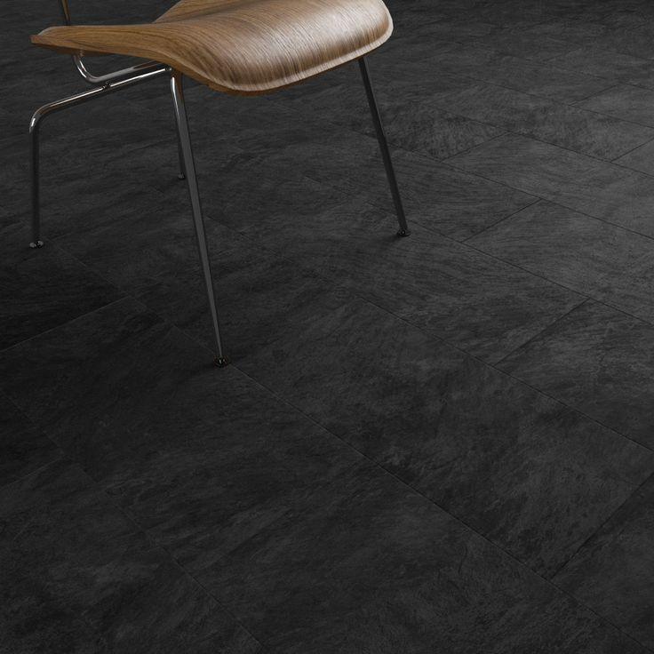 Black Slate Floor Tiles Kitchen: 17 Best Ideas About Black Slate Floor On Pinterest