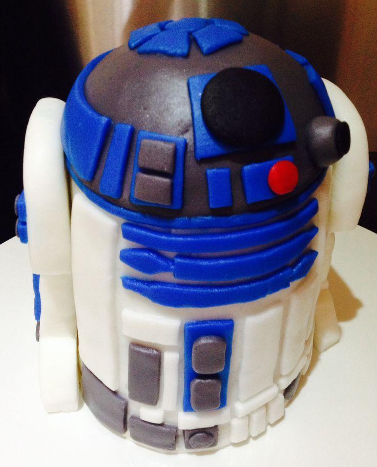 Mini R2D2 cake - cake #6
