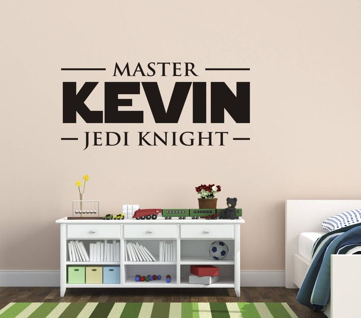 Cute Star Wars Wall Decal Star Wars Name Wall Decals Kids Name Wall Decals