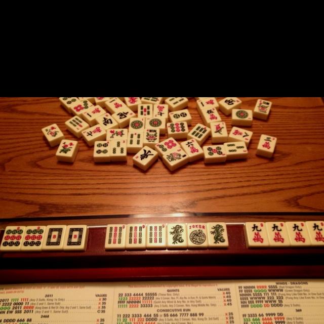 Maj!!!: Maj, Mahjong