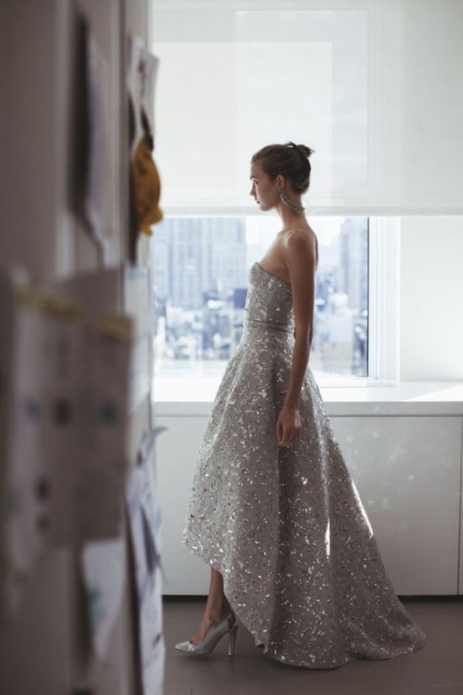 10 Grey Wedding Dress Ideas  I have fallen in love with these! Would love to see myself in 1, 6 and 7!