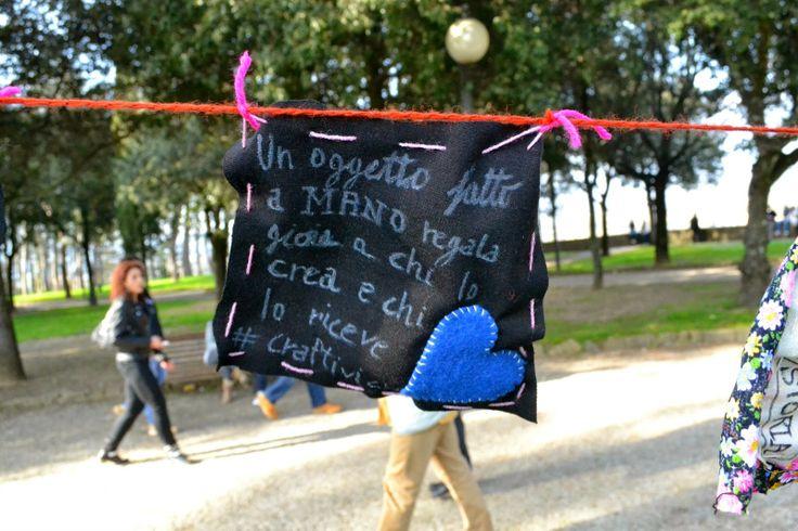 #Handmade Revolution Pic Nic #Arezzo  #craftivism #eitcraftivism #handmaderevolution