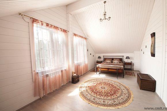 Еще одна замечательная #спальня на #мансарде