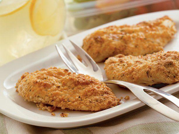 Oven-Fried Picnic Chicken: Oven Fried Chicken, Chicken Recipes, Food, Betty Crocker, Ovens Fries Picnics, Ovenfri Picnics, Ovens Fries Chicken, Picnics Chicken, Chicken Breast