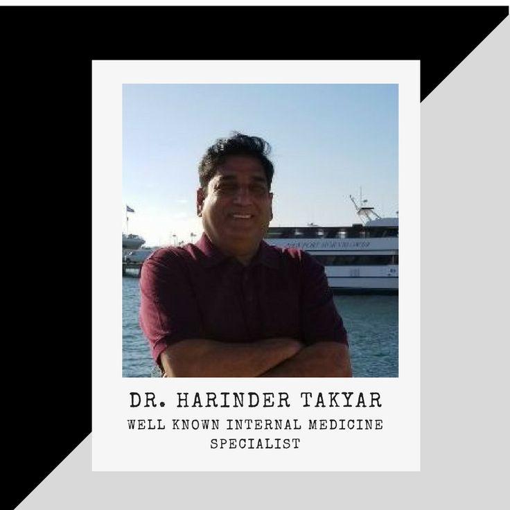Dr. Harinder Takyar : Well known internal medicine specialist in Arizona, USA