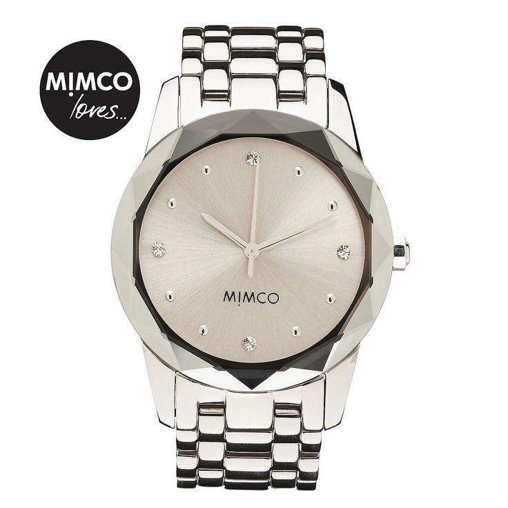 Timepeace Watches for Women | Mimco Online - LARGE ROUND GLIMMER WATCH