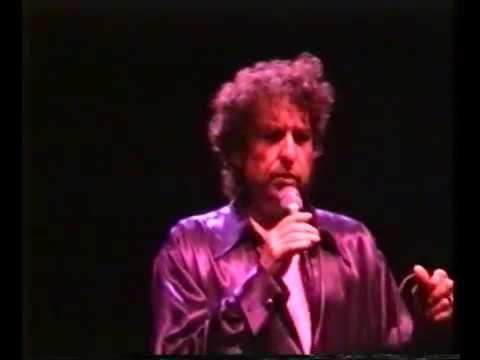Bob Dylan / Brussels 23 march 1995 /   acoustic set Dylan