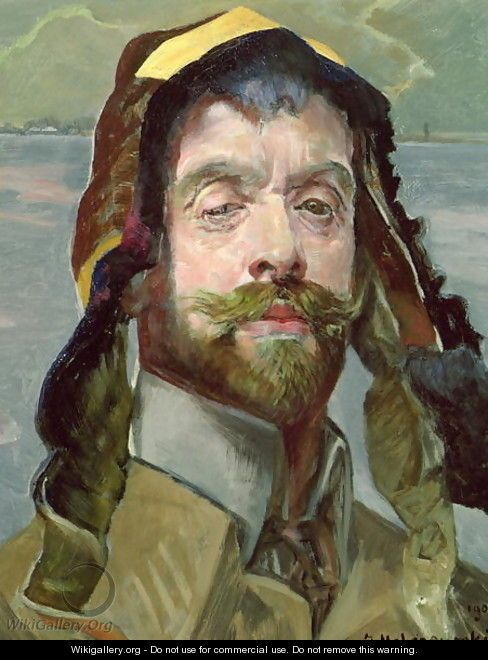 Self Portrait with Phrygian Hat, 1907 - Jacek Malczewski