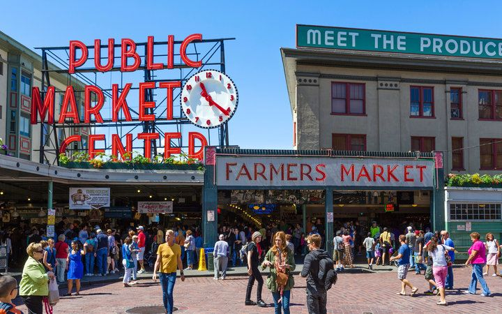 World's Most-Visited Tourist Attractions: Pike Place Market, Seattle