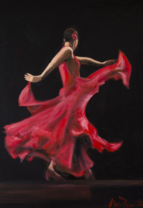 Image result for spanish dancer painting