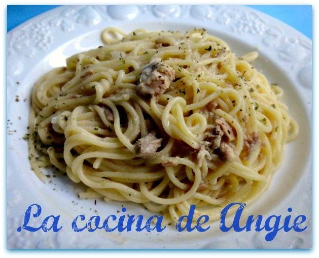 La cocina de Angie: ESPAGUETIS PICANTES