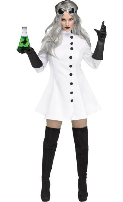 Shop for Womens Mad Scientist Costume and other Women s Halloween Costumes  online at PartyCity.com. Save with Party City coupons and specials. 2e66f6413b