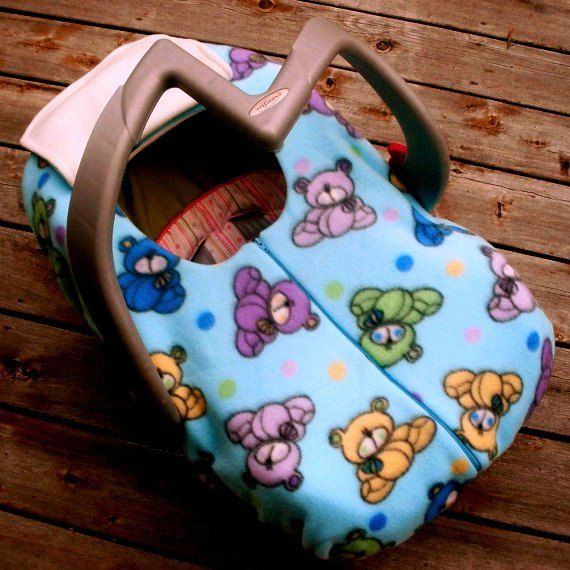 Infant Car Seat Cover Winter Car Seat Cover Cuddly by sophiemarie