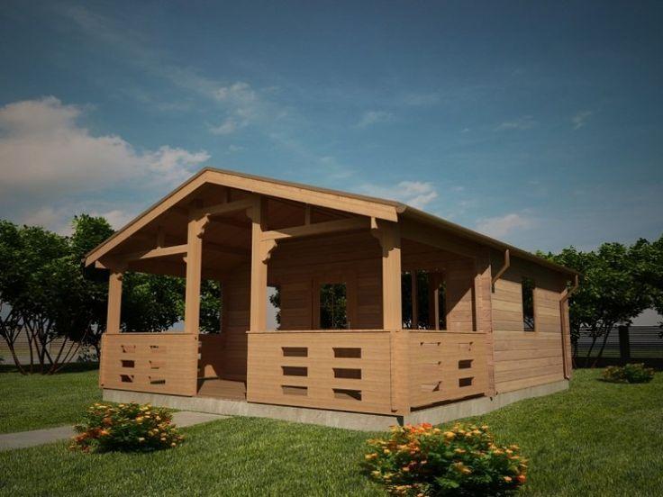 Houtskeletbouw Chalet Braila | Houten huis bouwen #timberhouses for #sale #housesforsale