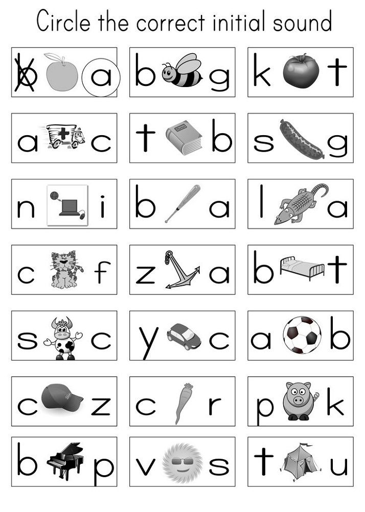 Alphabet Letter Worksheets Free Phonics Kindergarten Alphabet Phonics Alphabet Worksheets Kindergarten Preschool letter sounds worksheets