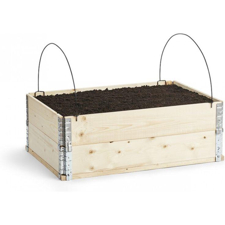 Bøyle for fiberduk til plantekasse svart