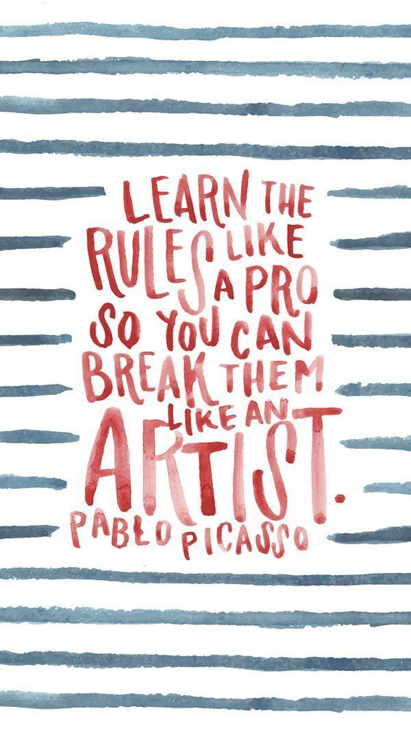 Picasso quote by Jessica Richardson  Pin by www.alejandrocebrian.com www.pinterest.com/alejandrobox