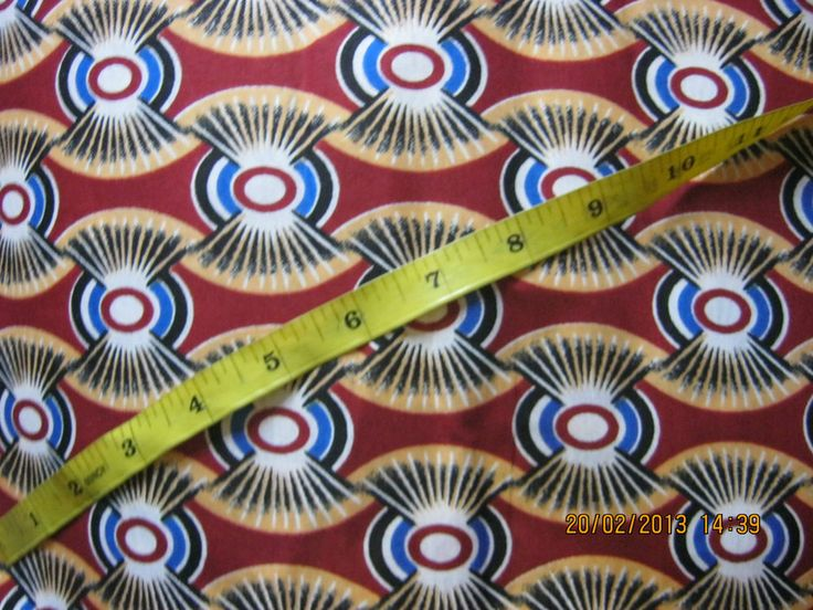 NEW AFRICAN COTTON PRINT FABRIC. *PRICE PER YARD* MULTI-COLOURED*
