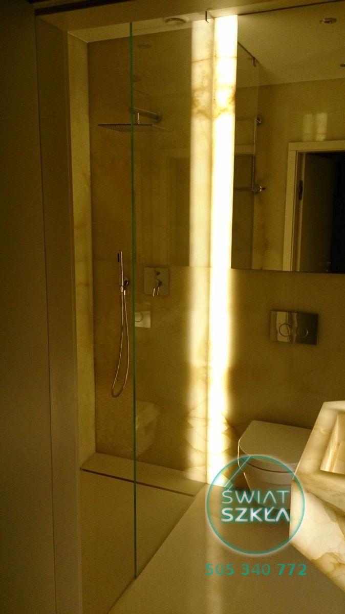 Ścianki prysznicowe to nowoczesne wykorzystanie szkła w łazience ! Światło i przestrzeń