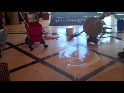 Marble Polishing, how to polish marble, polishing marble - YouTube