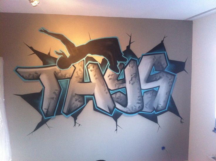 graffiti kinderkamer