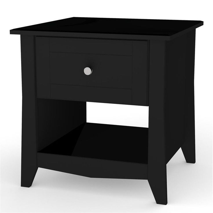 Have to have it. Megalak Finition Tuxedo Square Black End Table $152.99