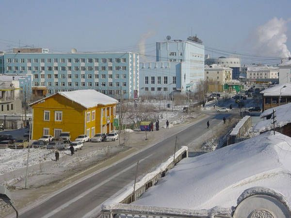 Oymyakon, in Siberia, is the coldest permanently inhabited place on Earth. Google Image Result for http://2.bp.blogspot.com/-JkD1l3Y6sFQ/Tg8_KZJXP0I/AAAAAAAAAeU/L7ogYVFB6iA/s640/oymyakon-russia.jpg