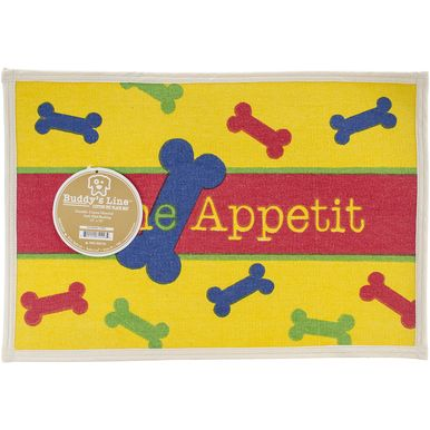 "Fashion Forward Cotton Mat 13""""""""X19""""""""-Bone Appetit"