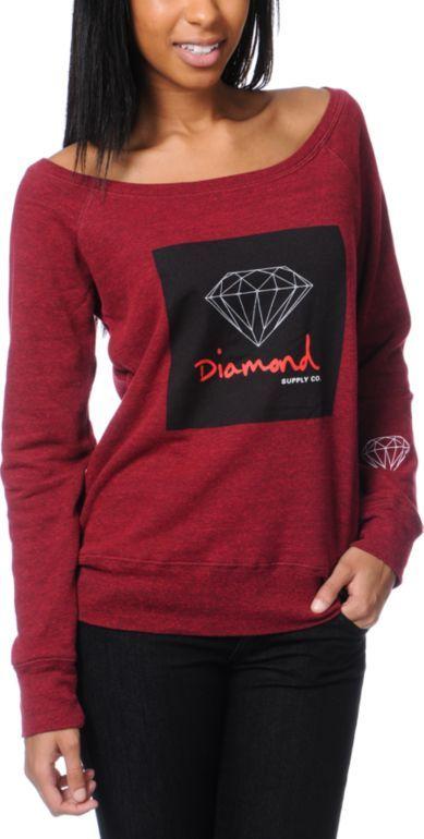 Diamond Supply Co Hoodie Women August 2017