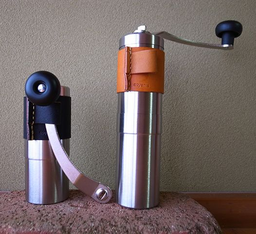 ポーレックス コーヒーミル 革カバー