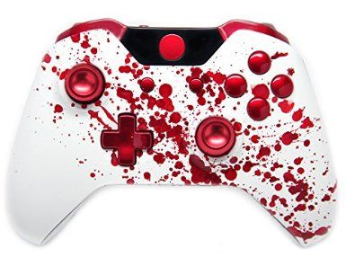 BLoody Mod mate http://yourmoddedcontrollers.com/product/bloody-splatter-xbox-one-rapid-fire-modded-controller-40-mods-cod-advanced-warfare-ghosts-quickscope-jitter-drop-shot-auto-aim-jump-shot-auto-sprint-fast-reload/