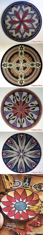 Нетканый гобелен крючком или жаккардовое вязание - My Hobby Book: Вязание, вышивка, бисер