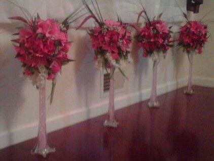 10 Best Crystalrose Events Custom Centerpieces Images On Pinterest