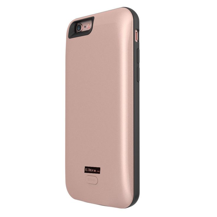 Rose gold charger case for Iphone 7 7 plus mobile phones