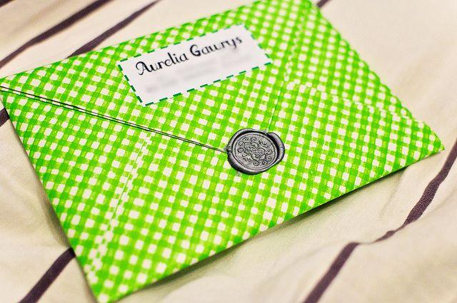 2013-11-23   Letter to Argentina #2 - envelope