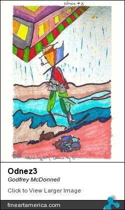 Scarecrow int he rain