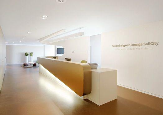 Imagine These: Dental Clinic Interior | Smile Designer Lounge SailCity | Bremerhaven | Germany | Gruppe für Gestaltung