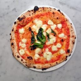 Photo of Goodfellas Pizza - Mississauga, ON, Canada. Wood Oven Margherita Pizza