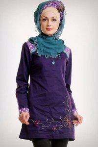 Model Baju Buslim Minimalis