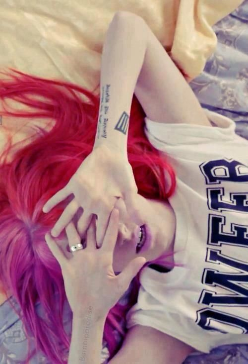 Still Into You music video. #PARAMORE