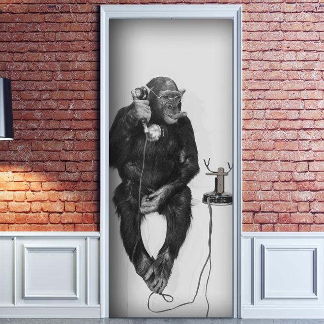 Decorazione Adesiva Monkey