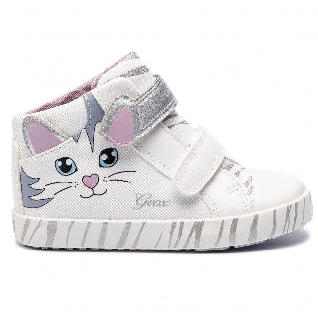 Trampki Geox B Kilwi G D B92d5d 01054 C1000 S White Trzewiki Kozaki I Inne Dziewczynka Dzieciece Calzado Ninos Zapatos Para Ninas Zapatos Con Luces