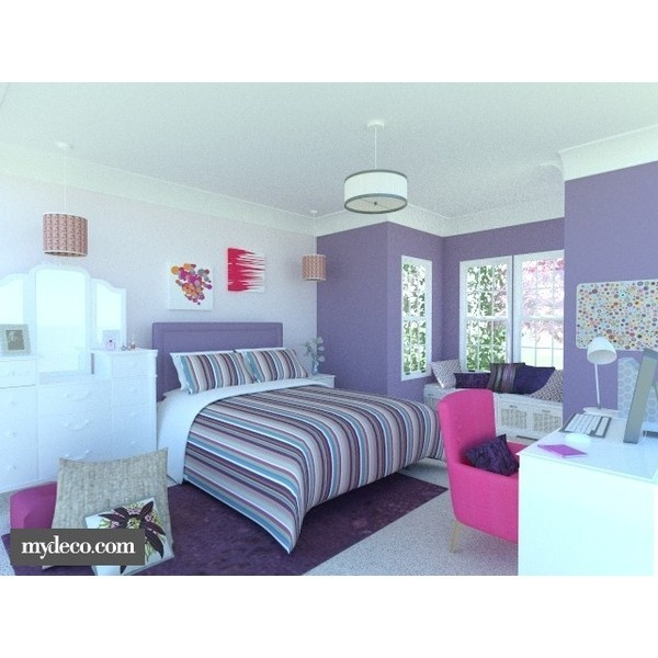 Teenage Dream Girl S Bedroom Liked On Polyvore