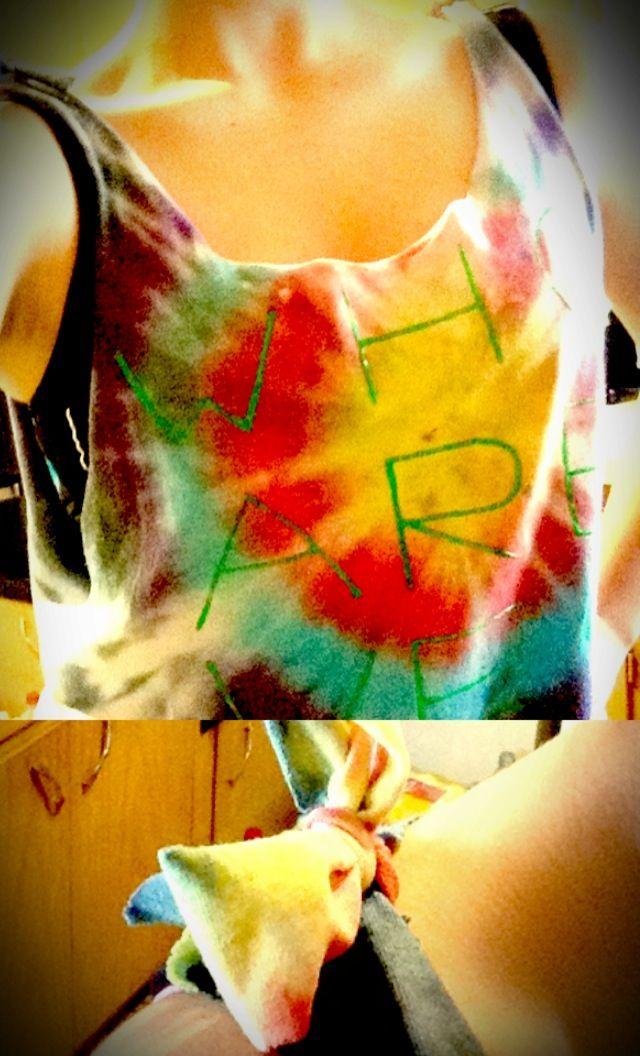 Tye Dye Grinder ~ Best cut workout shirts ideas only on pinterest